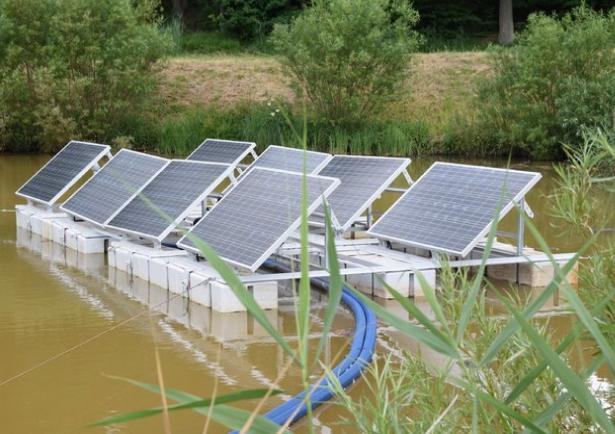Pkee Photovoltaic Panels On The Waves Biznesalert En